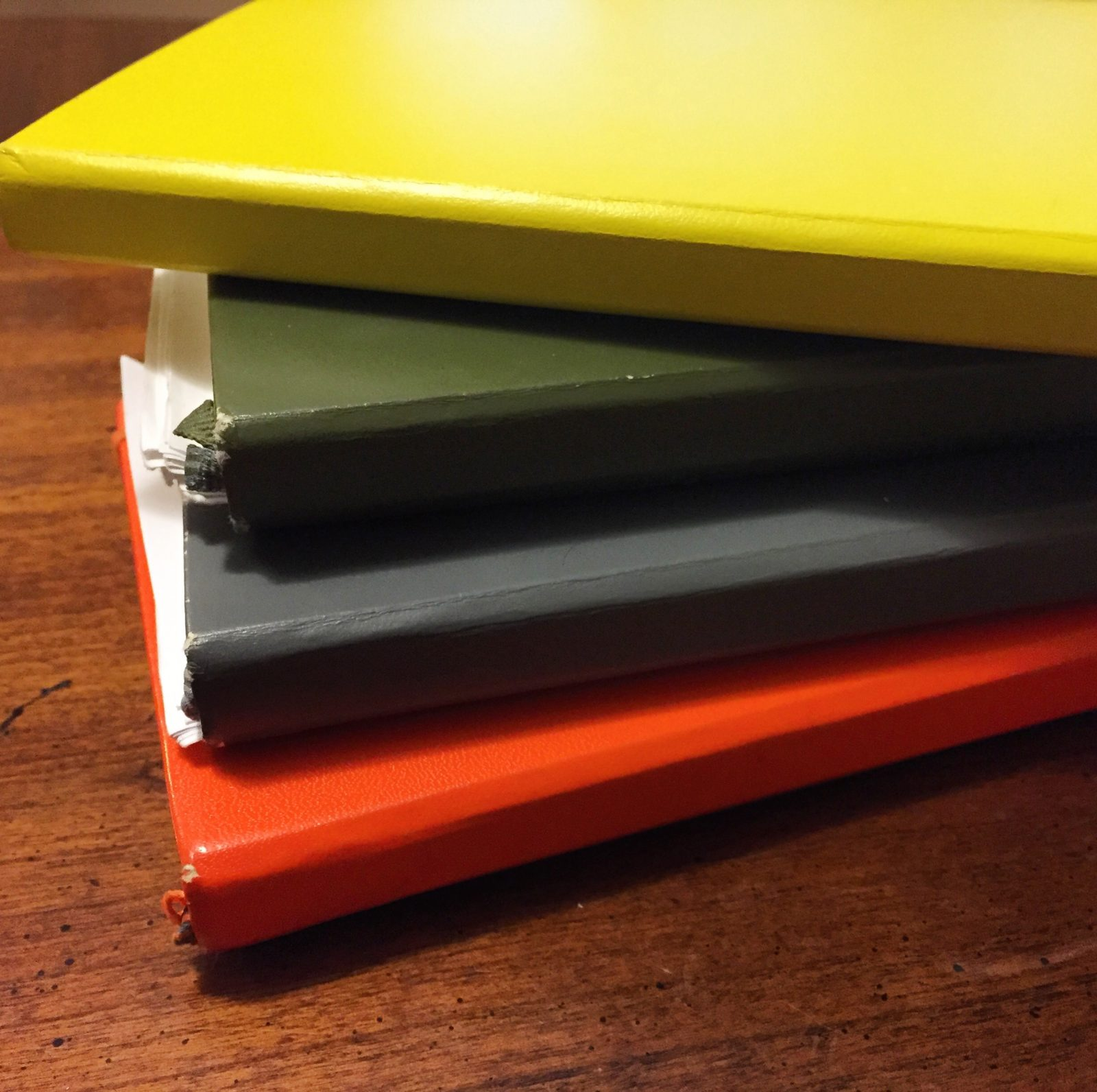 stack of school planners