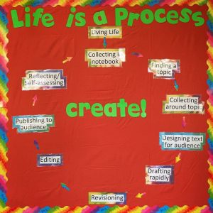 life is a process poster